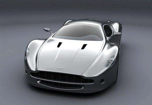 阿斯顿马丁推出超级跑车图片