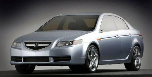 讴歌tl轿车,并宣布2009讴歌tl将于今年12月在全国上市销售.  高清图片