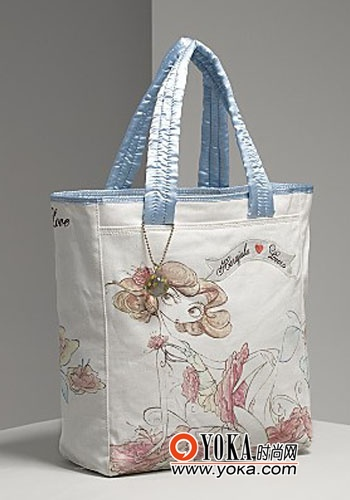 情人花仙子甜蜜手提包-童趣背包 给生活加点料