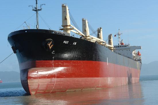 此外,该公司还用德国进口的二台气动式葫芦吊装舵系,大大缩短了工期图片